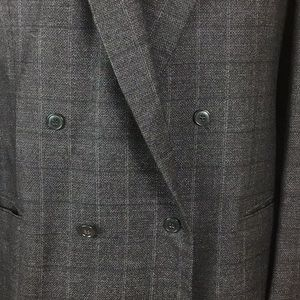 Giorgio Armani Suits & Blazers - Giorgio Armani Mani Double Breasted Wool Coat 44L